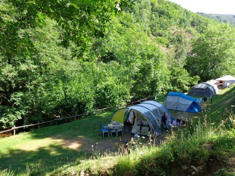 emplacement riviere camping lozere
